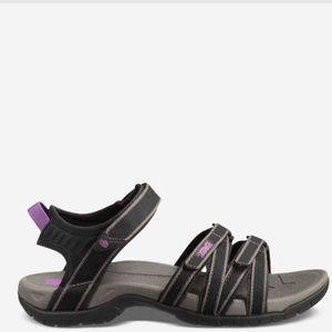 TEVA TIRRA strappy purple outdoor sandals
